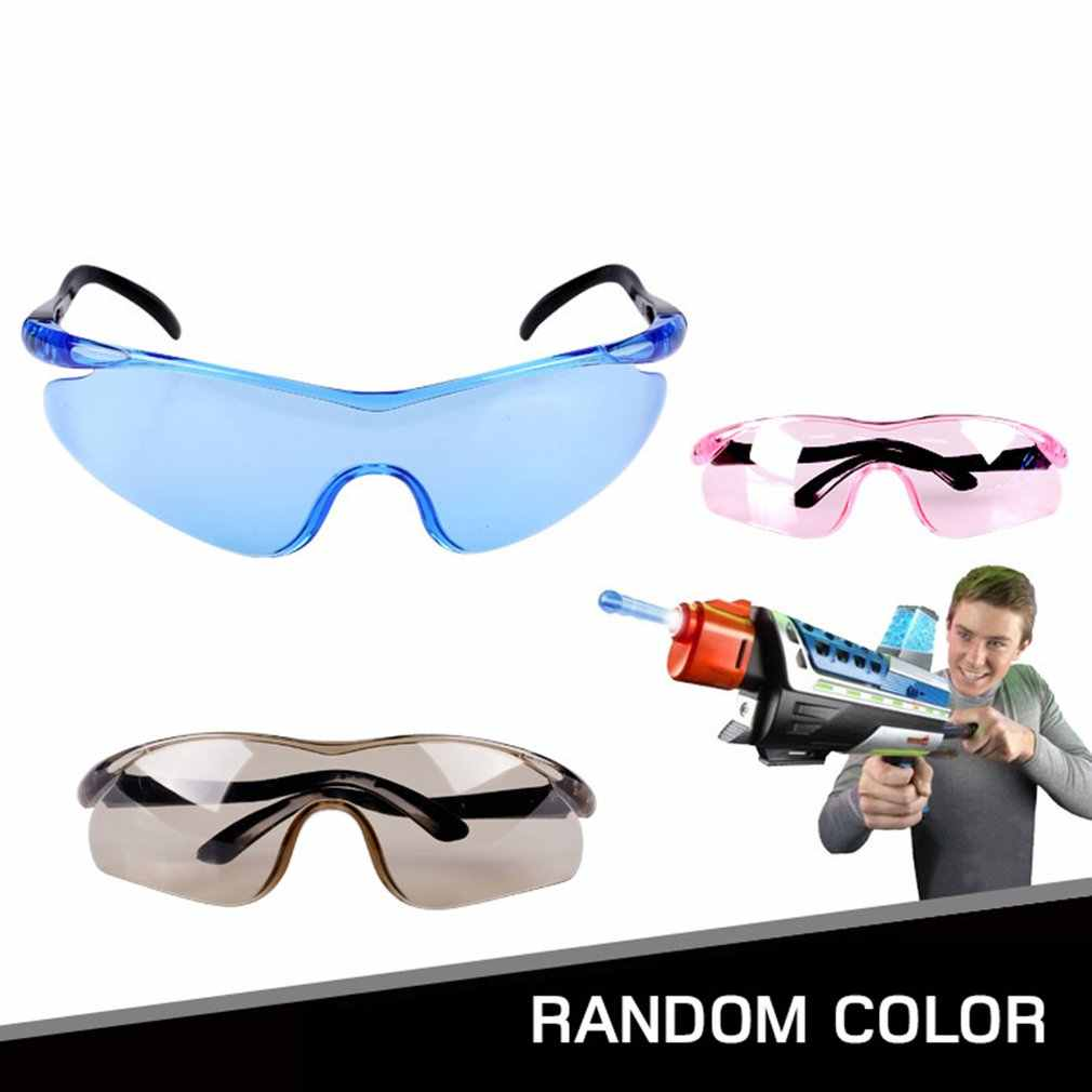 Lightweight Plastic Toy Gun Glasses for Nerf Gun Accessories Protect Eyes Unisex Outdoor Children Kids Classic Gifts
