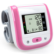 Health Care Automatic Wrist Blood Pressure Monitor Digital Lcd Wrist Cuff Blood Pressure Meter Gauge Pressure Measuring Tonomete yongrow wholesale wrist blood pressure monitor health care blood testing machine automatic digital blood pressure meter