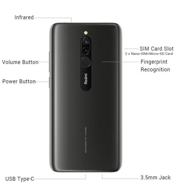 Smartphone Xiaomi Redmi 8 6