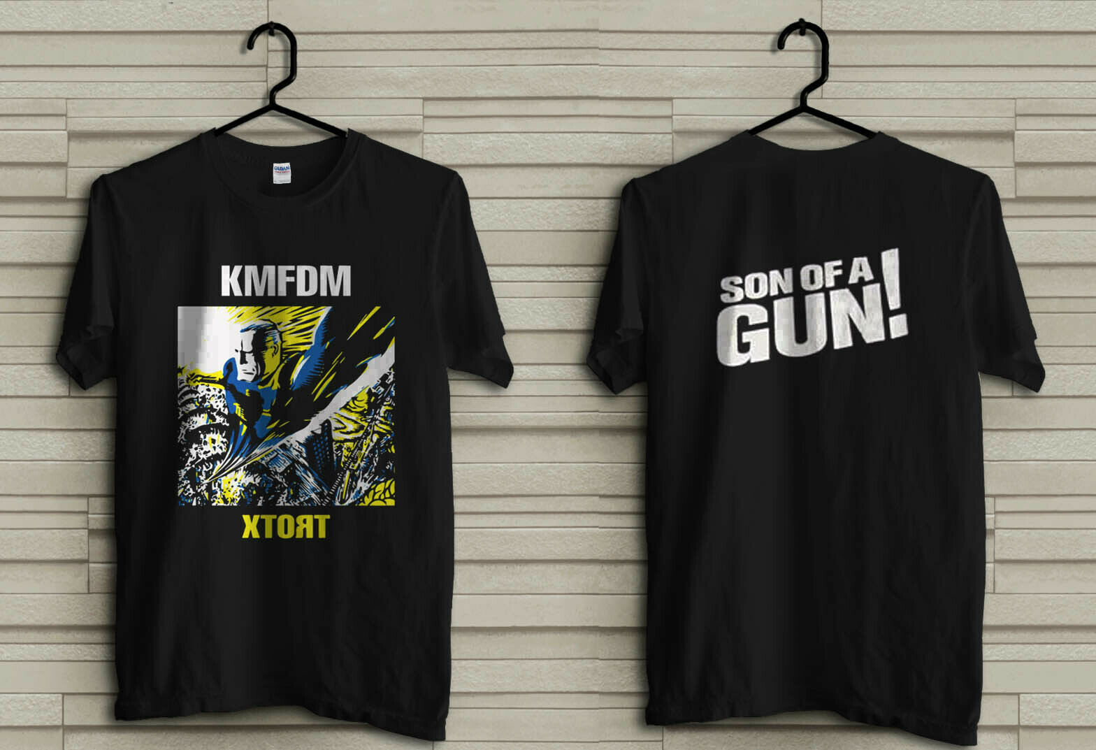 KMFDM XTORT NEW BLACK T SHIRT Printed T-Shirt Pure Cotton Men Top Tee