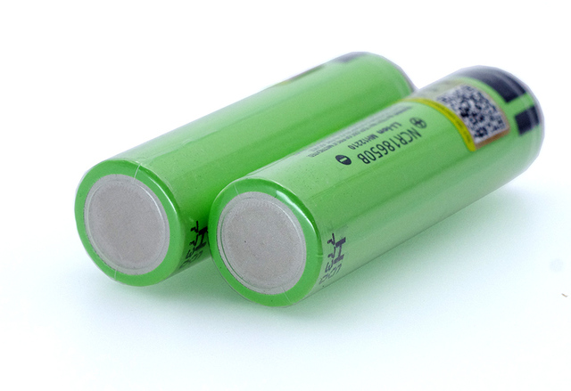 Liitokala new NCR18650B 3.7v 3400 mAh 18650 Lithium Rechargeable Battery with Pointed (No PCB) batteries 3