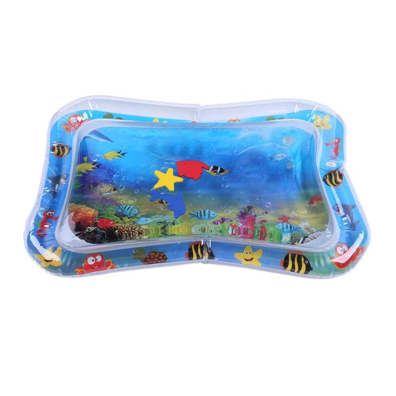 H4149989d0acc42359c542bafd3fab62fS Summer inflatable water mat for babies Safety Cushion Ice Mat Early Education Toys Play