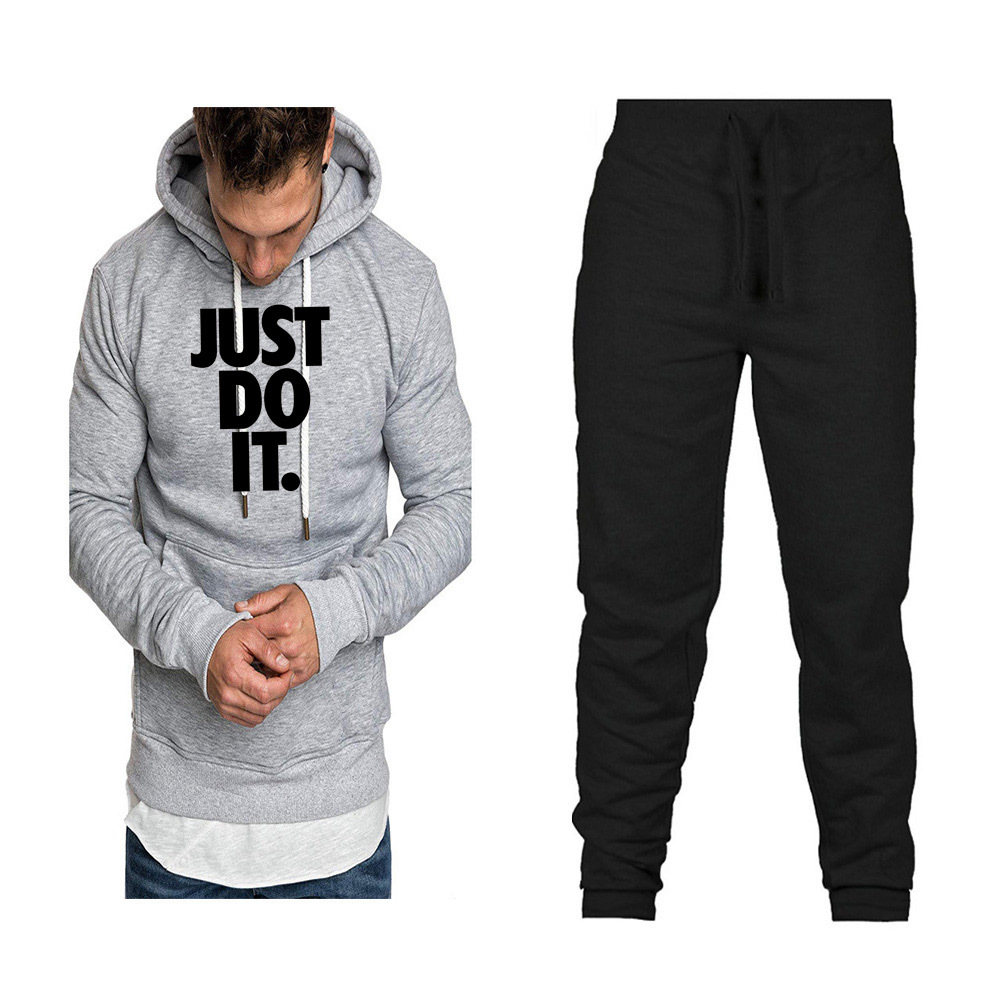 Fashion Brand Men And Women Mixed Colors Hoodie Hoodie Spring And Autumn Set Plus Velvet Printed Coat Hoodie Sports Set