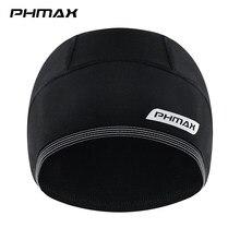 Phmax保温サイクリングキャップ防水mtbバイクバンダナカチューシャ冬熱スキー稼働ハイキングサイクリングヘルメット帽子