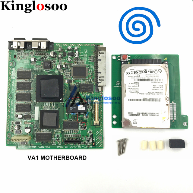 מקורי 120G קשיח פנימי דיסק משחק קונסולת VA0 VA1 האם עבור Sega Dreamcast DC w/120 PCS משחקים