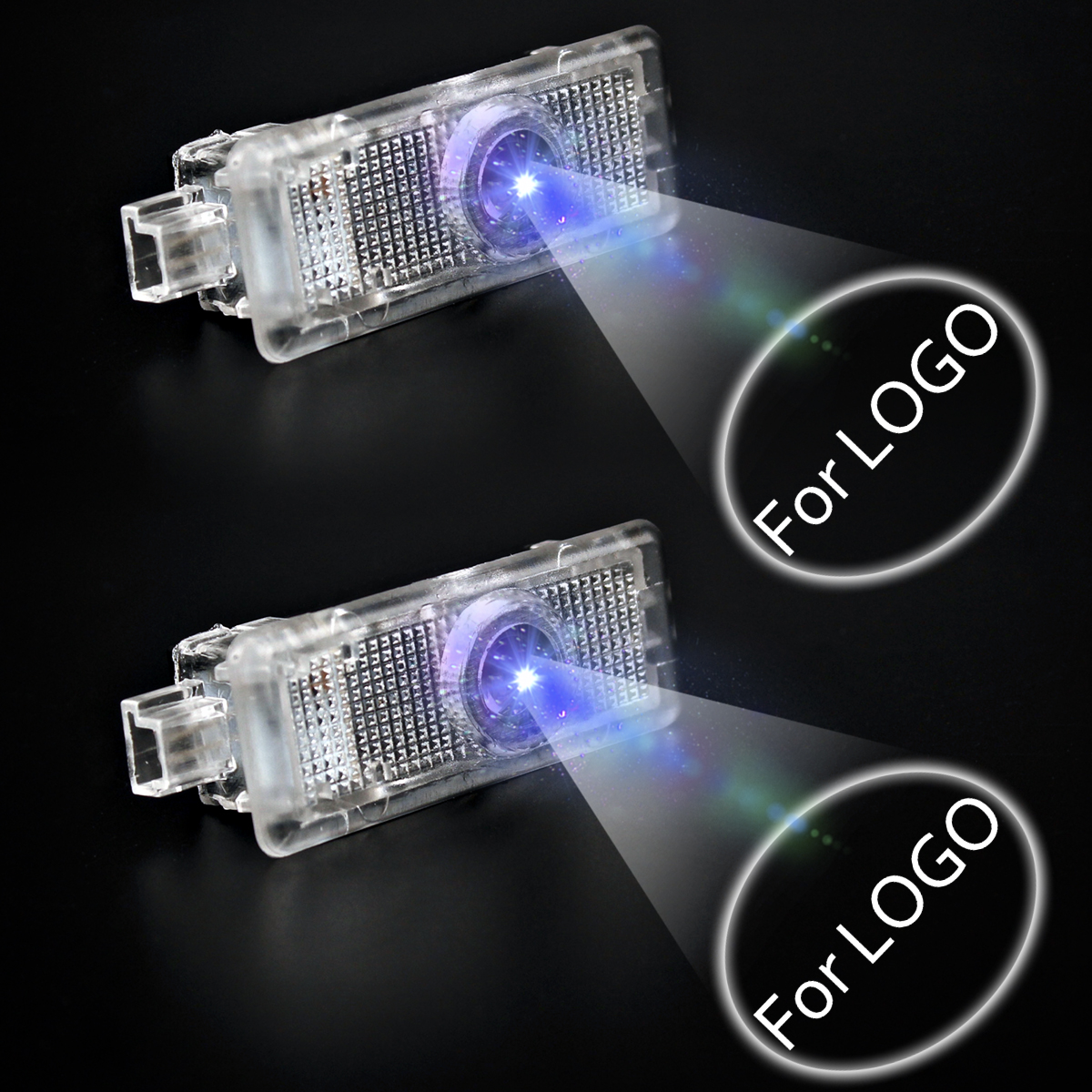 2pcs lot Car Logo Projector Light For AMG Logo CLA AMG A207 W218 CLS C207 C117 Car Styling Welcome Light LED Car Door Light in Signal Lamp from Automobiles Motorcycles