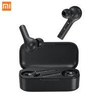 Xiaomi T5 Wireless Bluetooth Earphone In ear Earphones Wireless Charging Earbuds Noise Cancelling Headset Headphone For Phone