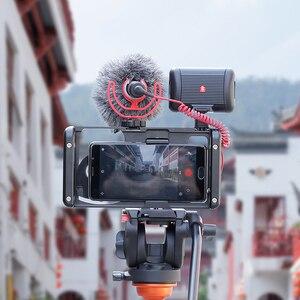 Image 2 - Металлическая клетка Ulanzi с резьбой 17 мм для адаптера объектива Ulanzi DOF Вертикальная съемка Vlog Настройка