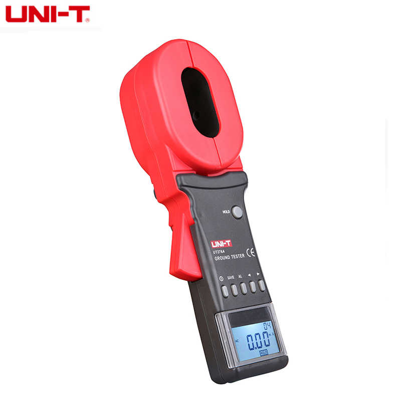 UNI-T UT278A Ground Resistance tester 4digitals LCD display Clamp Ohmmeter 1200Ω