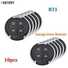 10 ชิ้น/ล็อต, KEYDIY B Series 4 ปุ่มทั่วไปโรงรถ B31 สำหรับ KD900 URG200 KD X2/KD MINI MINI Generater