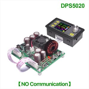 Conversor de tensão digital da fonte de alimentação do voltímetro do lcd de 50 v 20a