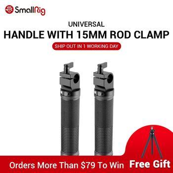 SmallRig Black Basic Handle V2 with 15mm Rod Clamp (2pcs Pack) Rubber Handle Shoulder Rig - 1626 basic instructions v2