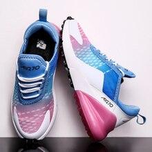 נשים ספורט נעלי אישה מאמני אוויר כרית סל Femme מקרית סניקרס גבירותיי נעל גבוהה באיכות Zapatillas Mujer Deportiva