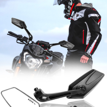 Mirrors Scooter Rearview Motorbike Ducati Kawasaki KTM Black Yamaha Honda Suzuki Universial
