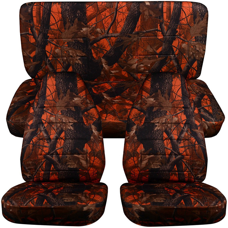 Auto-time Hunting Camouflage Car Seat Covers For Jeep Honda Nissan Kia Volvo Auto Seat Cover For Fishing Interior Accessories