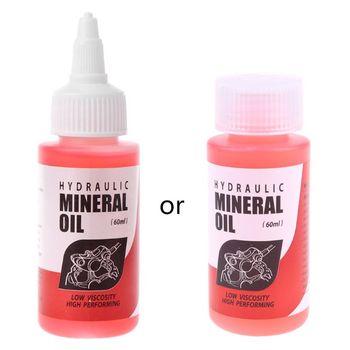 Rowerowy układ hamulcowy olej mineralny 60ml płyn rowerowy rowery górskie do Shimano Dropship tanie i dobre opinie RISK OTHER Hydrauliczny hamulec tarczowy (hydrauliczny hamulec pad)