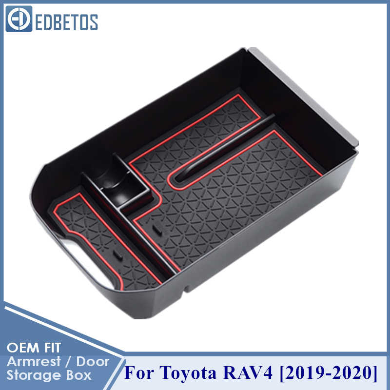 RAV4 2019 2020 kol dayama saklama kutusu konteyner RAV4 2019 2020 kol dayama saklama havasız ortam kabini Toyota RAV4 RAV4 LE XLE XLE Premium