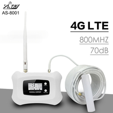 Smart 3G WCDMA 2100 Mobile Phone Signal Repeater Band 1 UMTS 3G 2100MHz Signal Amplifier 70dB Gain LCD Display 3G WCDMA Booster atnj 3g wcdma 2100 cell phone signal amplifier band 1 umts 3g wcdma signal repeater 70db gain lcd display agc alc 3g booster set