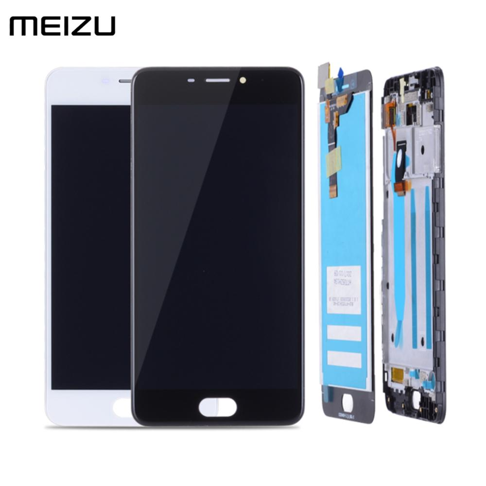 5.2''Original LCD For MEIZU M6 LCD Display Touch Screen Digitizer With Frame For Meizu M6 M711H M711M M711Q LCD Replacement