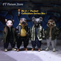 In Stock Collectible Mr.Z: 7 Pocket Collection Series No.1 Anime Anime Action Figure Model for Fans Holiday Gifts