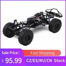 SCX10 II 90046 90047 RC Crawler 313mm 1:10 RC Marco de coche Wheelbase Chassi con 540 35T Motor cepillado para 1/10 AXIAL Climbing Car