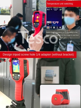 165K / A / H infrared thermography thermometer 85H + temperature gun temperature detector