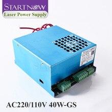 40W-GS MYJG-40 PSU Co2 лазерный источник 110 В 220 В Универсальный 25 Вт 30 Вт Co2 лазерный источник питания 40 Вт для лазерной резки маркировочная машина