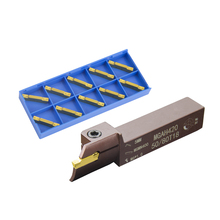 MGAH High-end spring steel for MGMN400 Large range MGAH420 MGAH425 External reverse end face Groove cutter Mechanical lathe