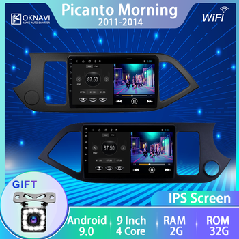 For Kia Morning Kia Picanto 2011-2016 Car Radio Android 9.0 Multimedia Video Player Navigation No 1 Din 2 Din Left/Right Hand image