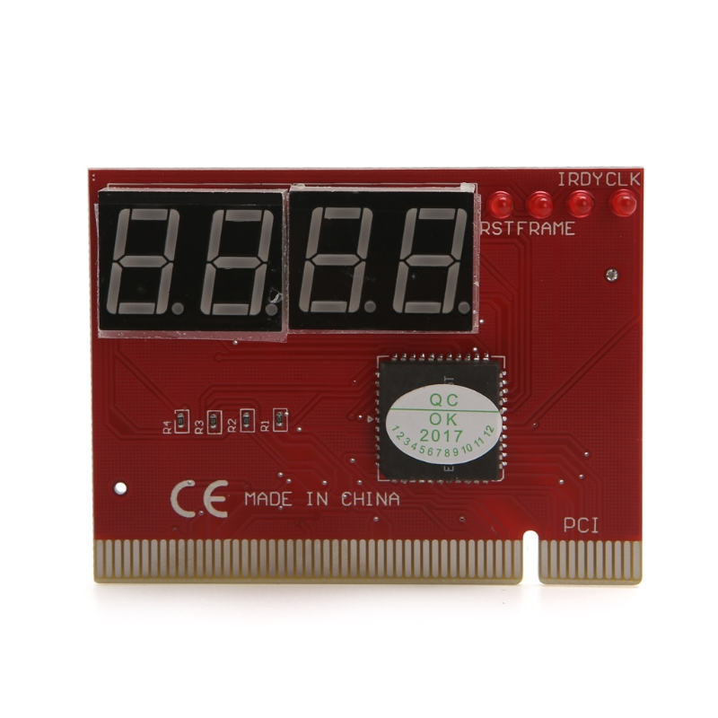 New Computer PCI POST Card Motherboard LED 4-Digit Diagnostic Test PC Analyzer High Quality 6