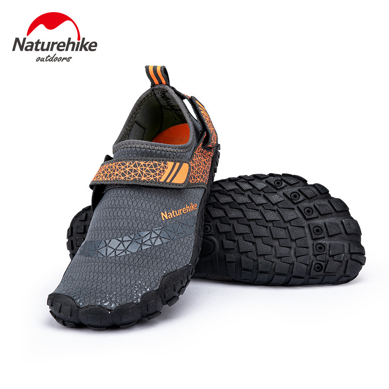 Naturehike Rubber Sole Wading Shoes Non-Slip Men Women Soft Shoes Dive Boots Beach Socks Shoes Swimming Shoes NH20FS022