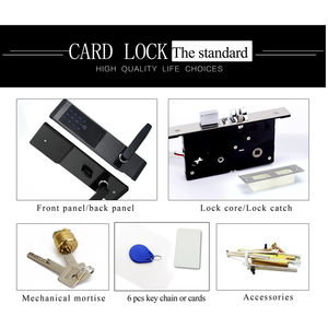 Image 5 - Security Electronic Combination Door Lock Digital Smart APP WIFI Touch Screen Keypad Password Lock Door Home Office Door Lock
