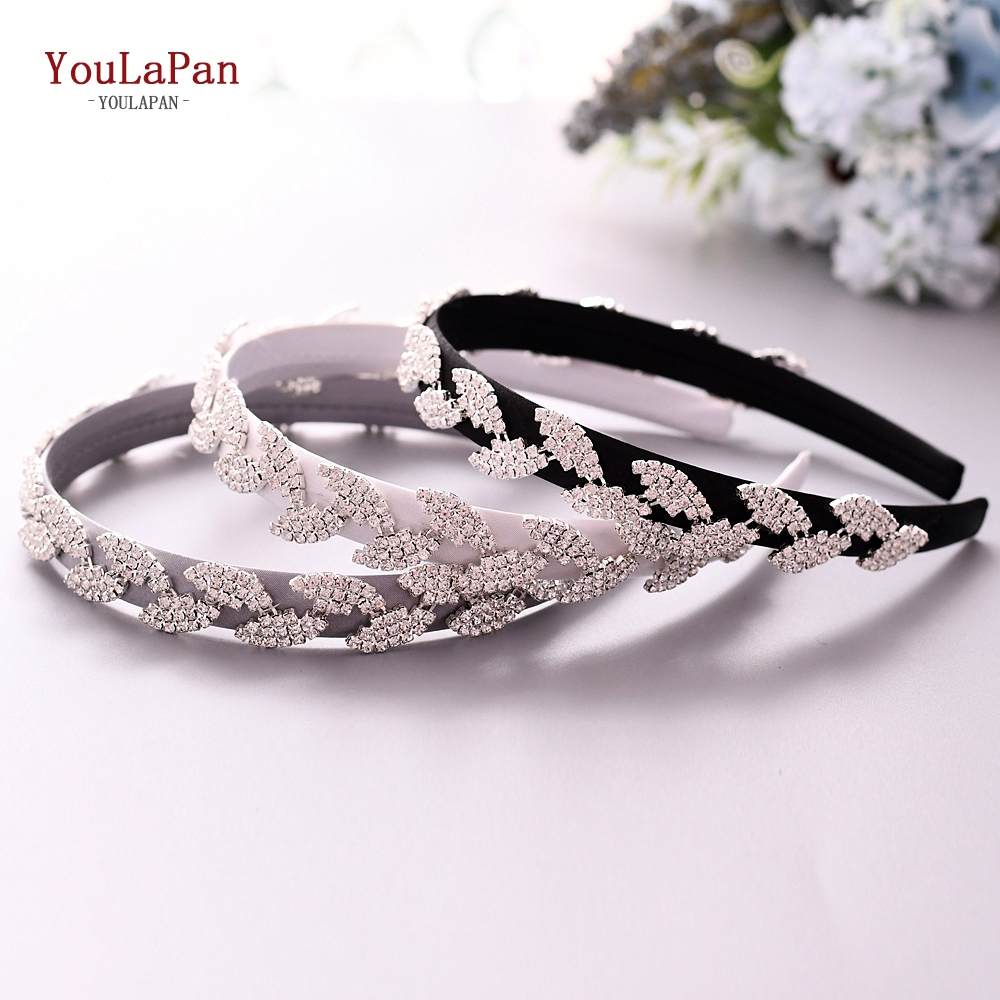 YouLaPan S198-FG  Wedding Hair Accessories Rhinestone Headband Wedding Headdress Wedding Hair Decoration For Women