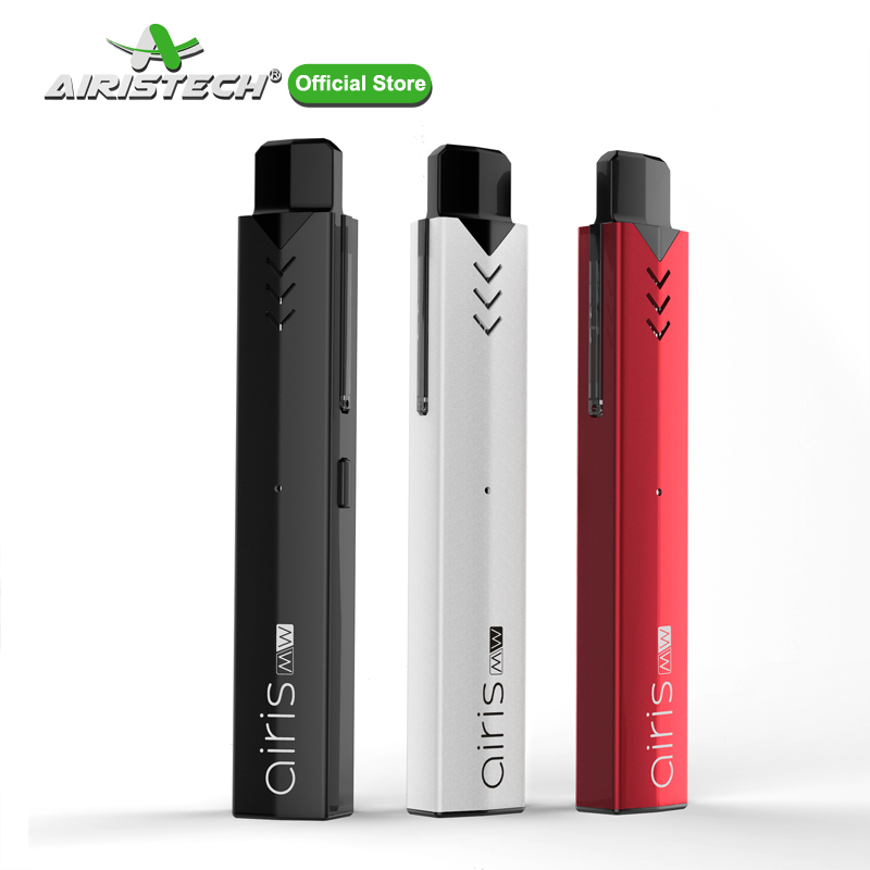 AIRISTECH Airis MW Vape Pen Kit Wax Pod Included Dual Quartz Heating Coil Portable Electronic Cigarette