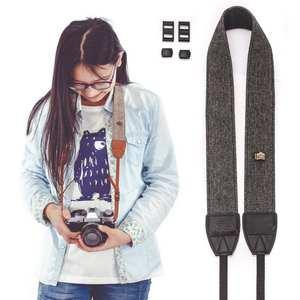 Neck-Strap Camera Shoulder-Sling-Belt Nikon Adjustable Vintage Canon SLR/DSLR
