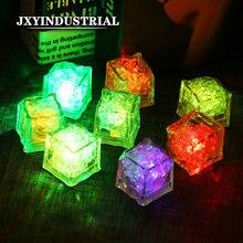 12 шт светодиодсветильник Светящиеся Кубики льда меняющие цвет