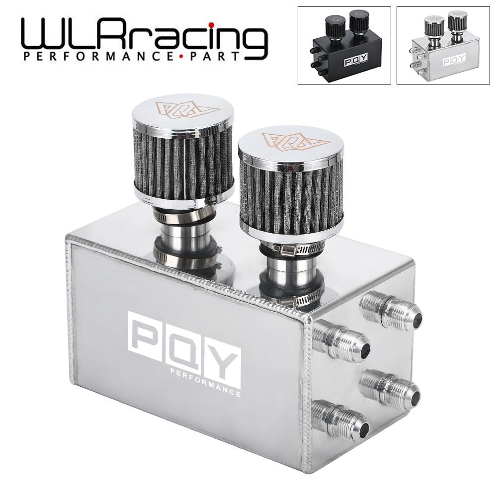 Wrl Racing Oil Catch Kan Breather Tank Voor Honda Civic Integra Ek Eg Dc WLR-OCC02-QY