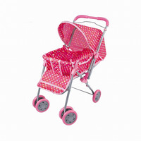 Children's Toy Girl Pretend Play Cart Girl Baby Doll Stroller Walker Birthday Chirstmas Gifts Brinquedos juguetes Kids Toys