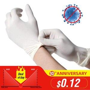 100Pcs Disposable Latex Gloves