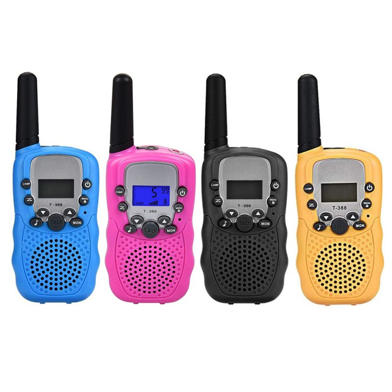 Kids Walkie Talkie Radio Mini Toys T-388 3 – 5 Km 22 FRS And Gmrs UHF Kid Gift Bft3 Portable Two Way Transceiver 2PCS / Set
