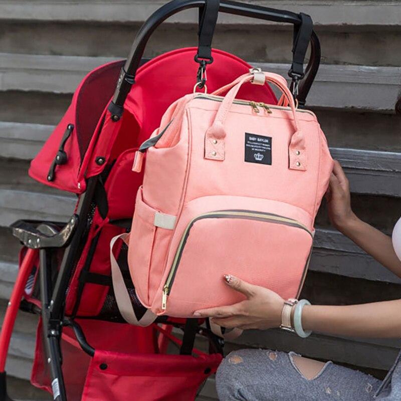 Newborn Baby Mummy Bag  Nappy Bag Backpack Waterproof Handbag  Maternity For Stroller Mom Bag Nursing Portable