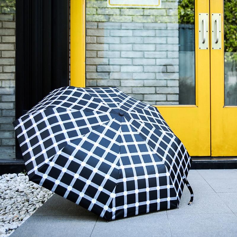 Zi Fully Automatic Top Grade Business Advertising Umbrella Students Vinyl Sun-resistant Windproof Parasol Rain Or Shine Dual Pur