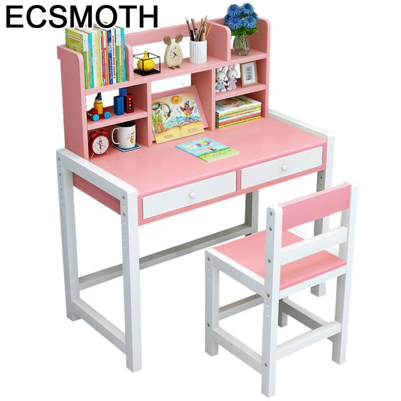 Scrivania Bambini Pour Avec Chaise Escritorio Children And Chair Adjustable Bureau Enfant Mesa Infantil Study Table For Kids