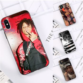 hip hop rapper Trippie Redd Custom Photo Soft fundas Phone Case for iPhone 11 pro XS MAX 8 7 6 6S Plus X 5 5S SE XR casese 2020 image