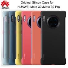 Ban Đầu Huawei Giao Phối 30/Huawei Giao Phối 30 Pro Silicon Mềm Lưng Với Sợi Bên Trong Capa Dùng Cho mate30 Mate30 Pro