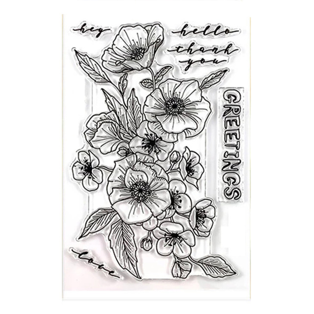 clear stamp  4x6in 3