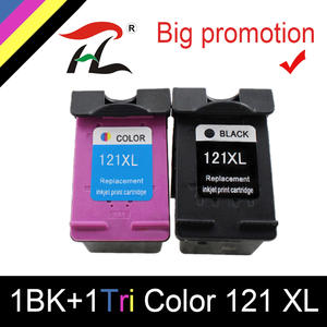 Link-Cartridge Inkjet-Printer Hp121xl Hp Deskjet Compatible for HTL CC641HE All-In-One