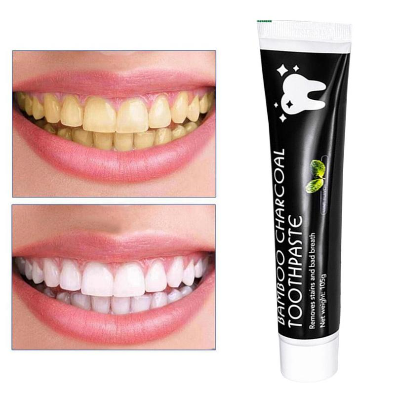 Teeth Whitening Bamboo Activated Charcoal Oral Hygiene Dental Toothpaste Intensive Stain Removal Tooth Whitening Tooth Care