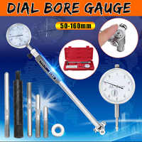Dial Bore Gauge 50-160mm 0.01mm Metric Cylinder Internal Small Inside Measuring Probe Gage Dial Indicator Precision Measuring