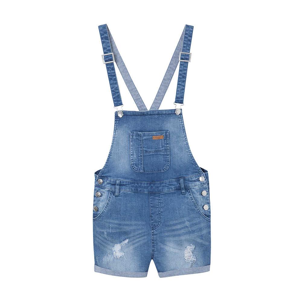 Metersbonwe Strap jeans damskie spodenki jeansowe Occident 2019 nowe letnie modne spodenki z wysokim stanem Fashion Brand Short Pants